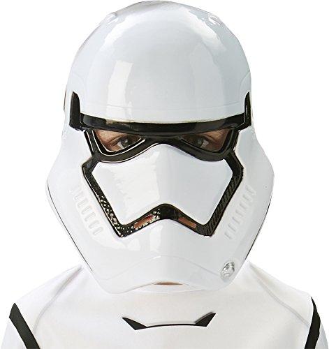 Rubie's 32529 - Star Wars, Maschera per travestimento da Stormtrooper, Bambini, Taglia unica