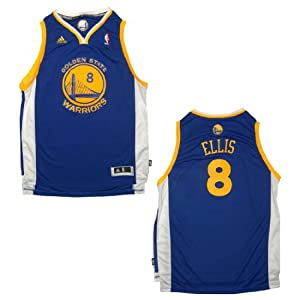 NBA GOLDEN STATE WARRIORS ELLIS #8 Youth Pro Quality Athletic Jersey Top with... by NBA