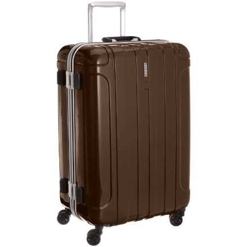 [ピジョール] PUJOLS アルモニー スーツケース 63cm・74リットル・4.3kg(ACE製) 05733 08 (ブラウン)