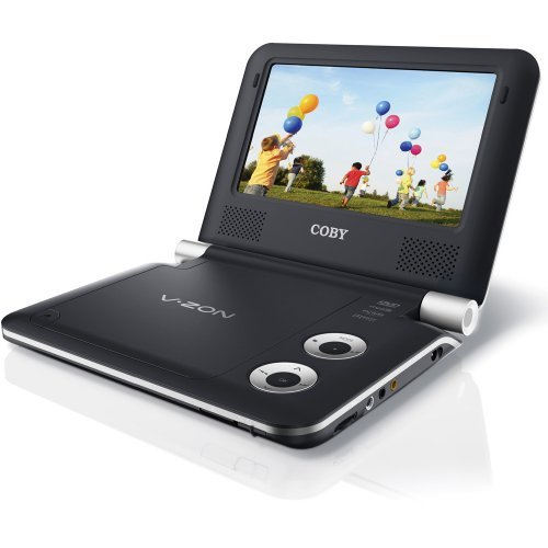 Coby TFDVD9009 9 Portable DVD/CD/MP3 Player