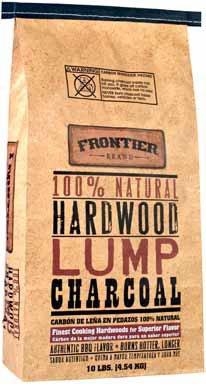 Frontier Lump 20 lbs Hardwood Charcoal