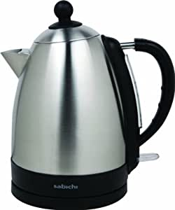 Sabichi I'm A Brushed Stainless Steel Kettle, Silver