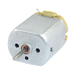 9V DC 8200RPM Long Axis Flat Electric Magnetic Motor - Permanent