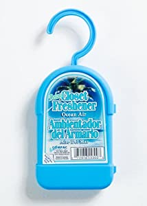Ornascent by Compac Deluxe Closet Freshener - Ocean Air,  (Pack of 6)
