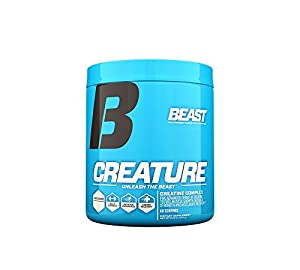 Beast Sports Nutrition Creature Creatine Complex, Unflavored, 10.5  Ounce