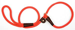 Mendota Products Dog Slip Lead, Orange, 1/2-Inch x 6-Feet
