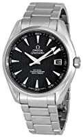 Omega Men's 231.10.42.21.06.001 Seamaster Aqua Terra Chronometer Black Dial Watch by Omega