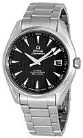 Omega Men's 231.10.42.21.06.001 Seamaster Aqua Terra Chronometer Black Dial Watch by Omega