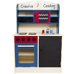 Infantastic® KDK02 Cucina giocattolo per bambini in legno: Amazon.it ...