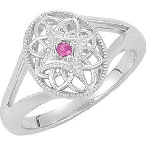 Genuine IceCarats Designer Jewelry Gift Sterling Silver Ruby Ring. Ruby Ring In Sterling Silver Size 6
