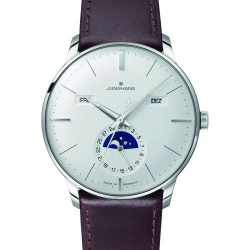 Junghans Watch - Meister Calendar - Silver/Brown