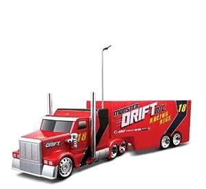 R/C Monster Drift Racing Rigs Truck Color: White