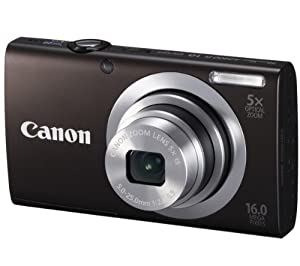 CANON A2400 IS - black Plus Ultra Compact Case Plus 8 GB SDHC Memory Card