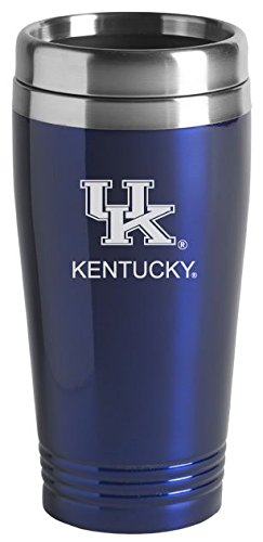 University of Kentucky - 16-ounce Travel Mug Tumbler - Blue