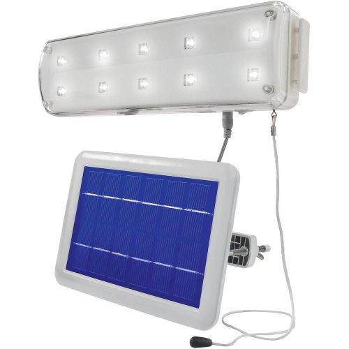 Spot solaire Renkforce Ampoule LED PS200/W10 blanc froid blanc