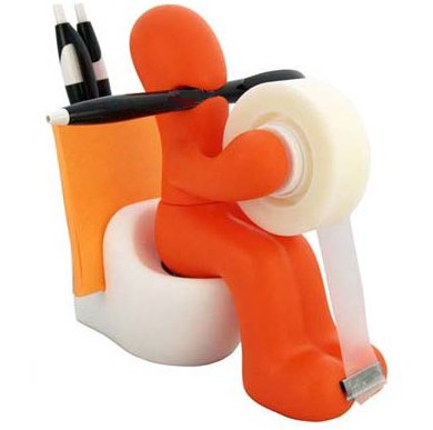 CSB BS69OR The Butt Station Desk Accessory Holder,