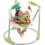 Distinctive Rainforest Jumperoo - Cleva Edition ChildSAFE Door Stopz Bundle
