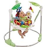 Distinctive Rainforest Jumperoo - Cleva Edition ChildSAFE Door Stopz Bundle
