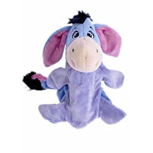 Disney MBE-WDP0139 Eeyore Puppet 10-inch