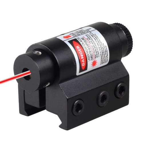 VERY100 Tactical Red Laser Sight For Rifle Scope Airsoft w/Weaver Picatinny Mount