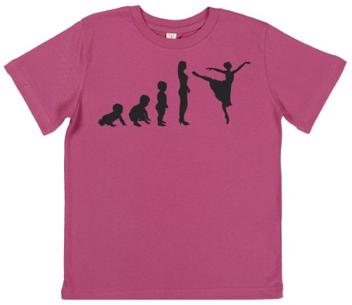 Phunky Buddha - Evoluation To Dance Children'S T-Shirt 7-8 Yrs - Pink front-699407