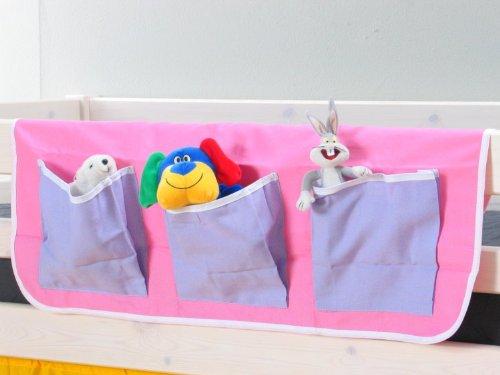 Thuka Hängetasche Organizer Aufbewahrung Tasche Kinderbett Hochbett Bett rosa