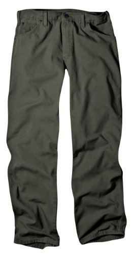 dickies-mens-relaxed-fit-duck-jean-moss-34x32