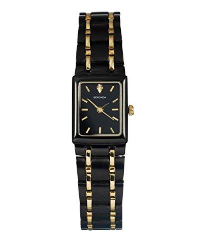 Sekonda Montre bracelet Femme Noir et Or (990730522)