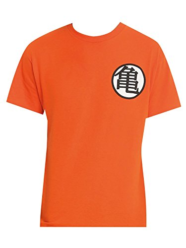 Dragon Ball Z Symbols T-Shirt arancione XL