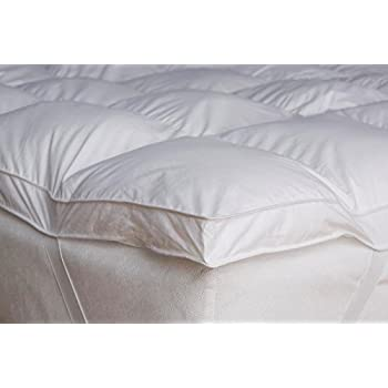 Home Sweet Home Dreams Thick Hypoallergenic Down Alternative Bed Mattress Topper, Queen, 2