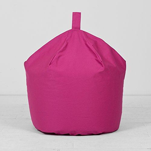 extra-large-xl-childrens-adult-cotton-dark-pink-berry-bean-bag-beanbag-filled