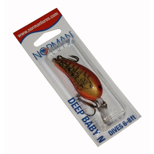 Norman Deep Baby N 1/4 Ounce Crankbait, Natural Craw  Best Offer
