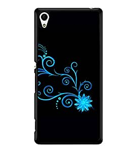 printtech Floral Pattern Wine Back Case Cover for Sony Xperia Z3 Plus , Sony Xperia Z3+