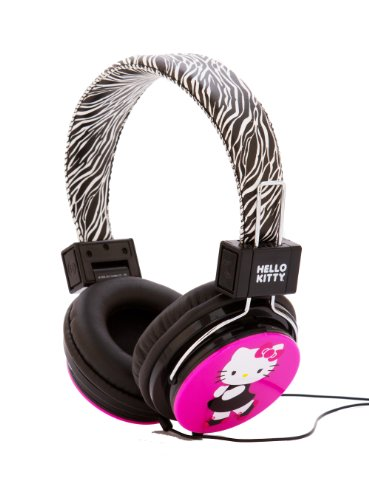 AV аксессуары Hello Kitty HK-ZEB-WM Headphones with Zebra Design