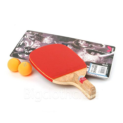 Butterfly Driver 3000 Table Tennis Ping Pong Racket + Ball x 2 /Express Shipping