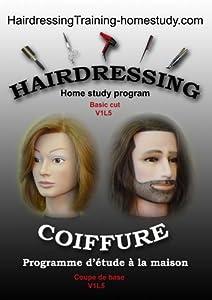 V1L5 -Women's basic cut | hairdressingTraining-homestudy.com