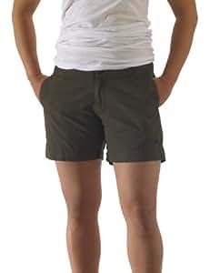 KAVU Women's Avalon Short Shorts, Brownie, 4