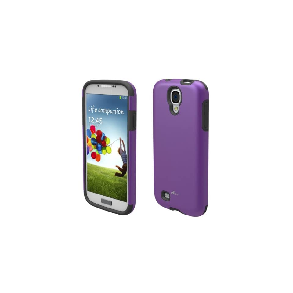 Acase Superleggera Pro Hybrid Case for Samsung Galaxy S4 IV   Purple
