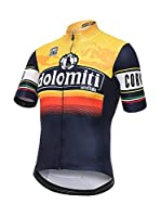 Santini Maillot Ciclismo Giro d'Italia 2016 Stage 14 Dolomiti (Naranja / Negro)