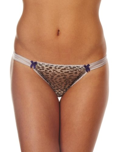 Mimi Holliday Petit Gateau Hipster Knicker Women's Knickers Winter leopard/purple Small