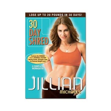 Jillian Michaels '30 Day Shred' DVD