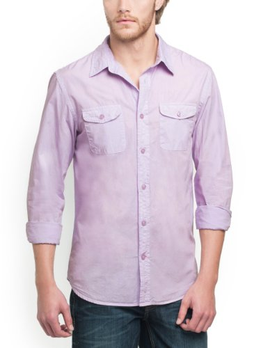 Image of GUESS Logan Long-sleeve Classic Two-pocket Shi