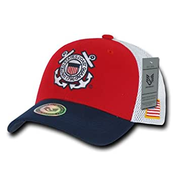 Rapiddominance Coast Guard Deluxe Mesh Military Cap
