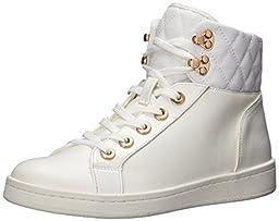 Aldo Women\'s Elza Fashion Sneaker, White, 8.5 B US