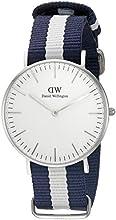 Comprar Daniel Wellington 0602DW - Reloj con correa de acero para mujer, color blanco / gris