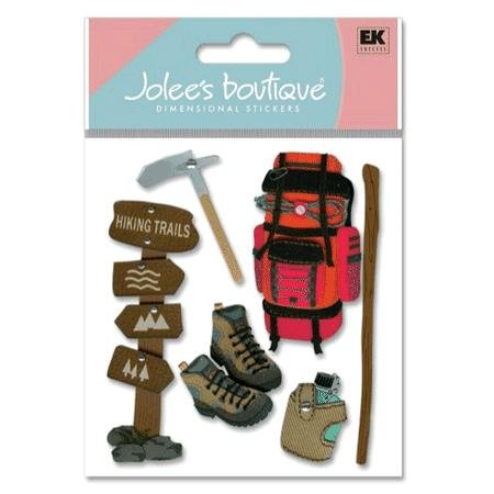 Jolee's Boutique Themed Ornate Stickers-Hiking Trip