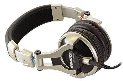 Brand New Shure | World-Class Full-Range Audio Performance, High Impedance and Maximized Power Handling, Enhanced Frequency, Maximized Power Handling, SRH750DJ, DJ Headphones