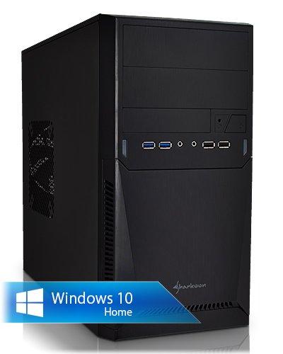 Ankermann-PC WildRabbit GAMER, AMD A10-7850K Black Edition 4x 3.70GHz Turbo: 4.00GHz, onBoard ATI RADEON HD R7 Graphics, 1000 GB Disque Dur, Microsoft Windows 10 Home 64Bit, Card Reader, EAN 4260370252195