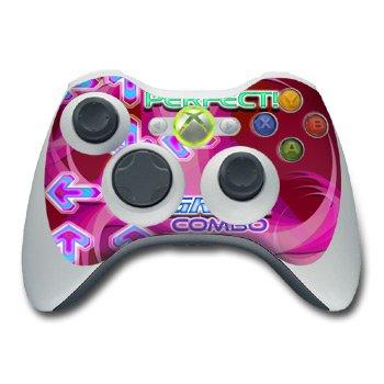 Xbox 360 Controller Skin - Dance Arcade Pink