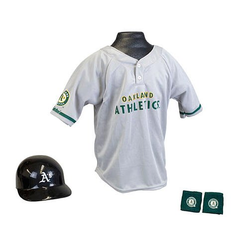 Franklin Sports MLB Uniform Set Oakland Athletics mlb oakland athletics lil teammates pitcher